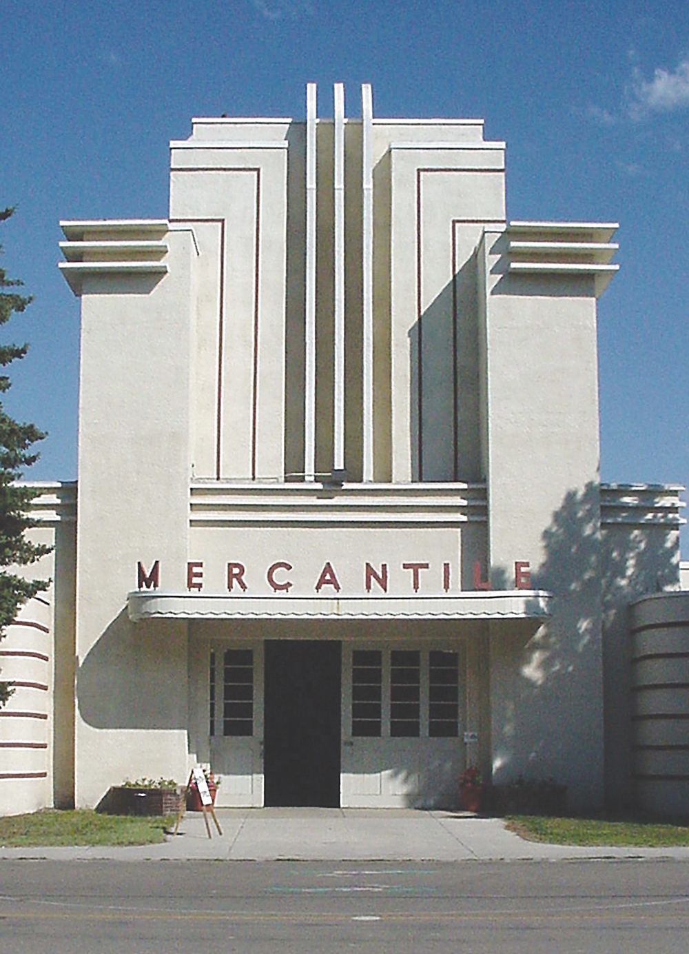 The Mercantile building shows off a great example of Art Deco design at the Montana ExpoPark, formerly known as the fairgrounds. Photo by Ben Chovanak.