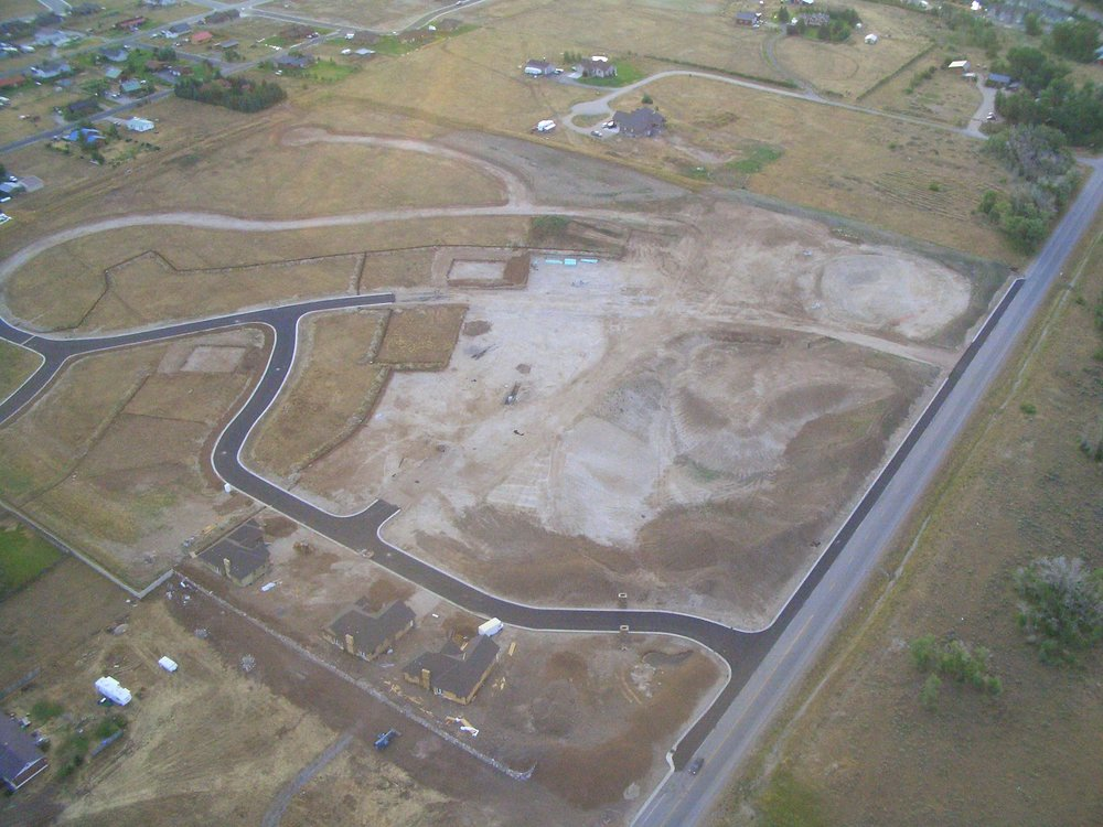 ZOMBIE SUBDIVISION. In Teton County, Idaho, three out of every four lots entitled for development were vacant. Photo by Anna Trentadue, Valley Advocates for Responsible Development.