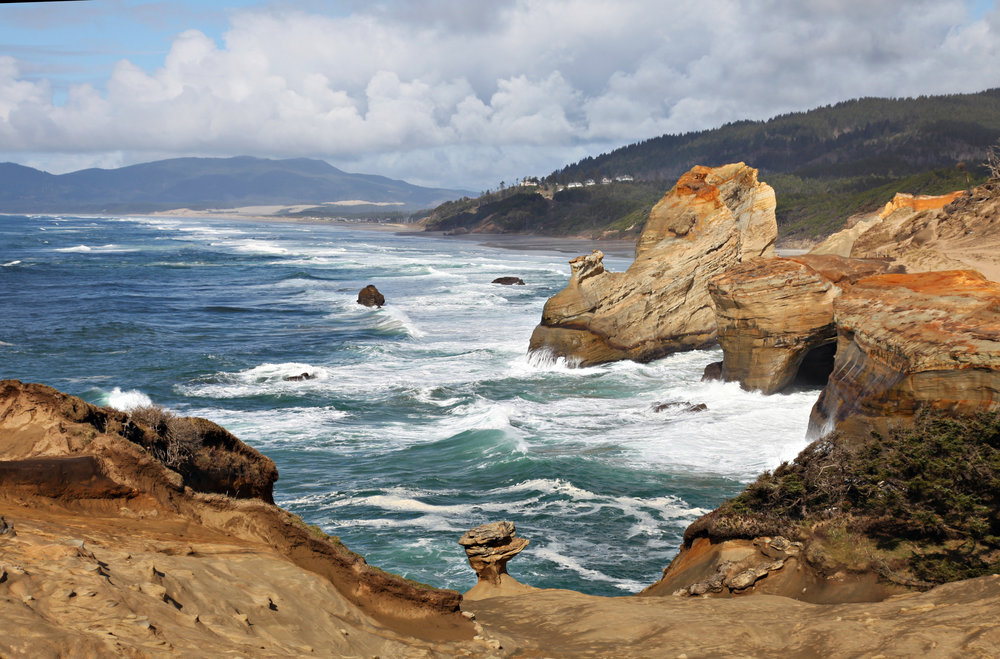 Located on Oregon's north coast, Cape Kiwanda is known for surfing and whale watching. Photo by Laren Wooley.