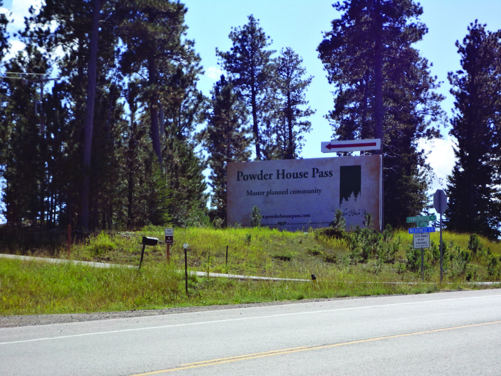 Powder House Pass is a development just south of Lead and Deadwood, located in the heart of the Black Hills. On 1,023 acres, the high-density development proposes a combination of residential and commercial options. Photo provided by Amber Vogt.