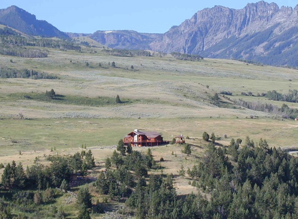 An easement on ranch at edge of Yellowstone Park in Paradise Valley, Montana. Photo provided by John B. Wright.