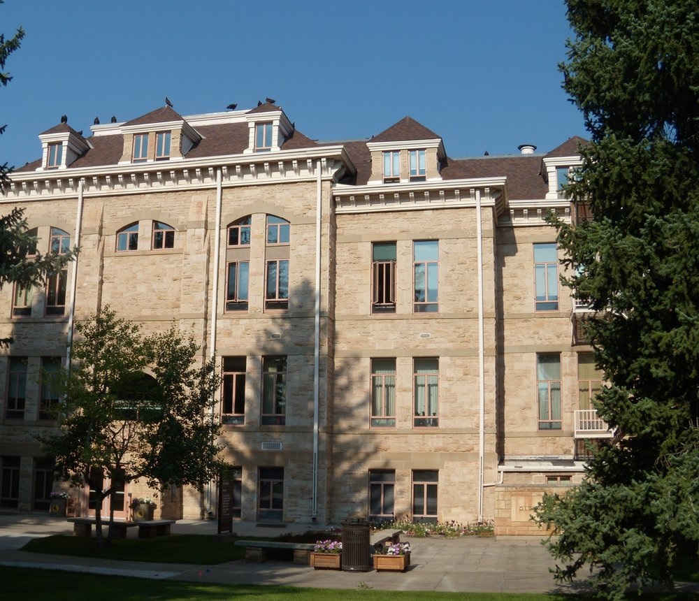 University of Wyoming: Old Main was built in the Romanesque Revival style in 1886. Photo by Brad Stebleton.