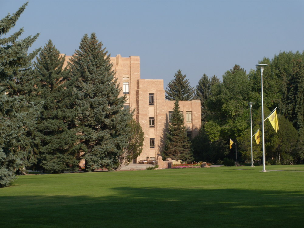 University of Wyoming. Photo by Brad Stebleton.