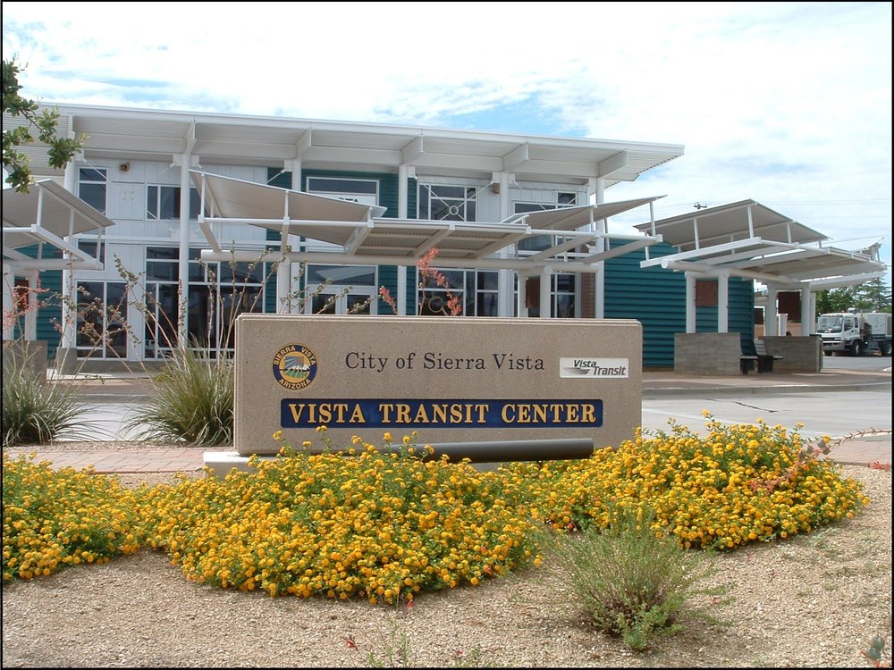 Sierra Vista, Vista Transit Center. Photo provided by Daniel R. Coxworth.