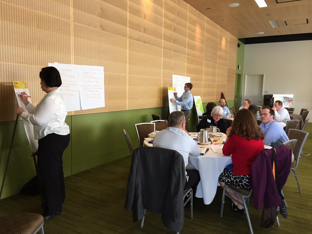 Smart Growth America workshop. Photo by Kristine Bunnell.