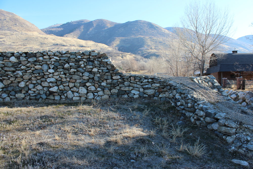 In the West some of the work of the CCC blends with the local terrain such as this flood control structure, (left photo) which continues to do its job in Farmington, Utah. Photo by Michael I. Smith.