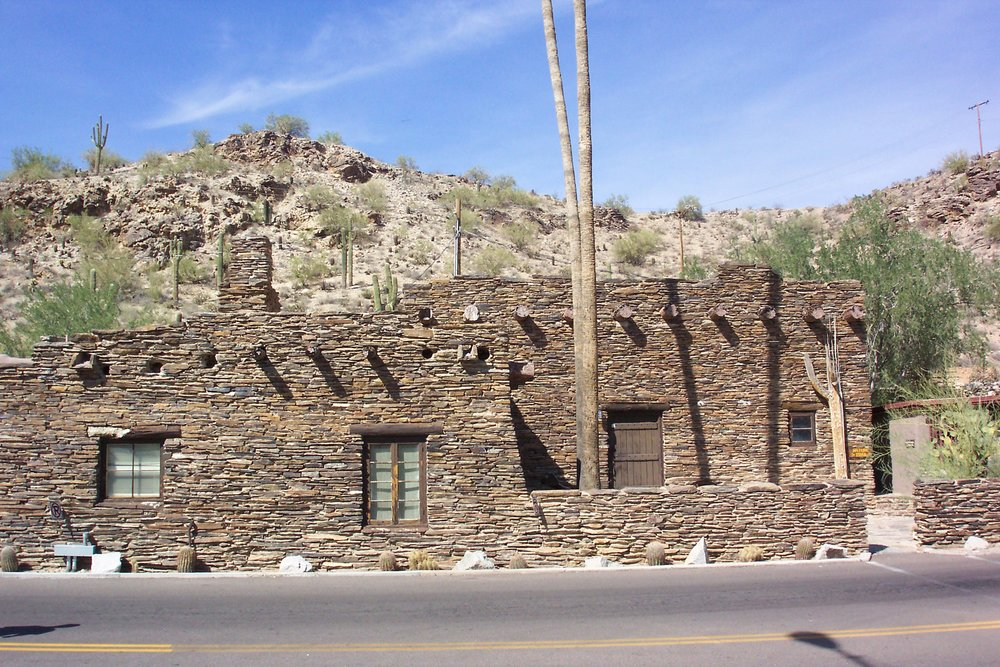 "The Civilian Conservation Corps built the museum building at Phoenix South Mountain Park in 1934. South Mountain Park is unusual in that it hosted two CCC camps simultaneously for certain periods during the 1930s. The establishment of a CCC camp in or near a community resulted in an average of $5,000 in additional money in a local economy each month because many supplies were purchased locally and enrollees often spent their $5 allowance ""in town."" Photo by Michael I. Smith."