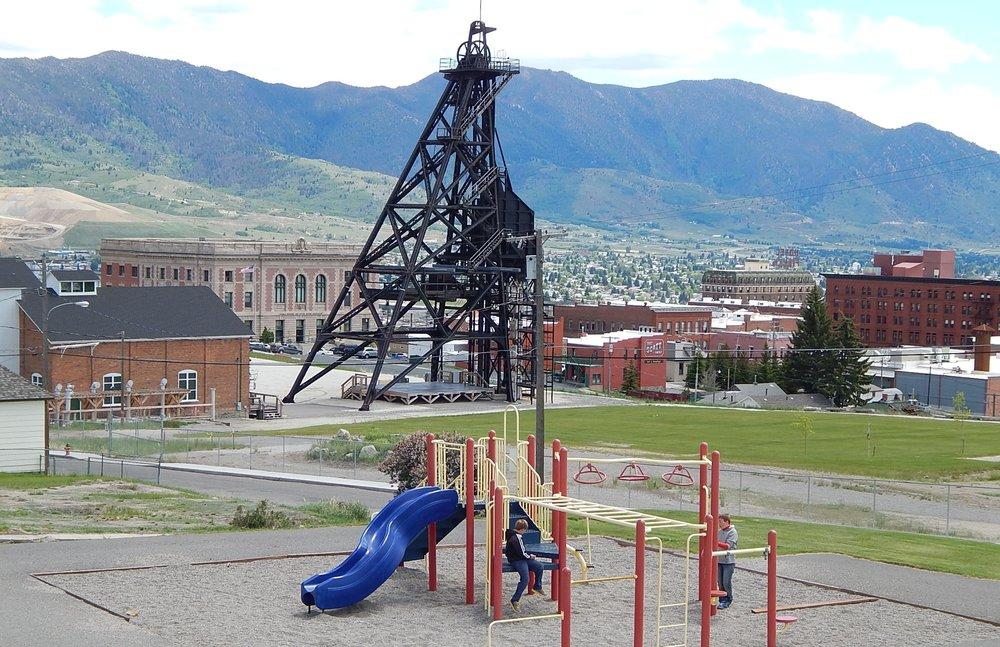 Original mineyard overlooking Butte. Photo by Jim Jarvis.