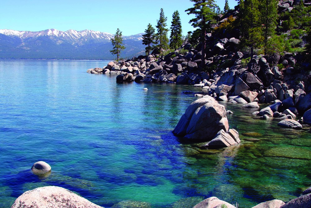 Pristine jewel: Lake Tahoe is also designated as an Outstanding National Resource Water, which is a special designation under the Clean Water Act. Only two other bodies of water have this designation in the Western United States: Mono Lake in California and Crater Lake in Oregon. Photo provided by the Tahoe Regional Planning Agency.