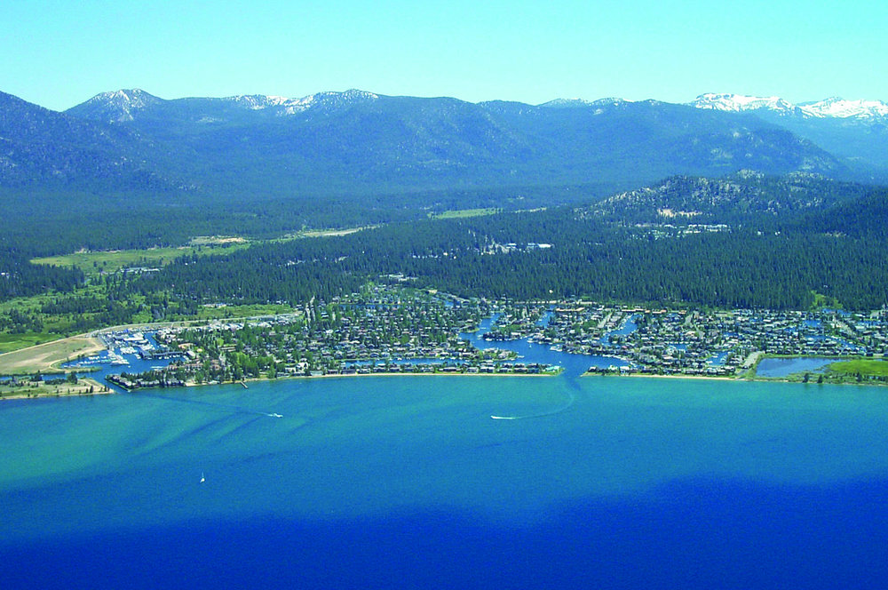 Wetlands: Over 75 percent of the marshes and 50 percent of the meadows in the Lake Tahoe region were developed prior to the creation of the Tahoe Regional Planning Agency. Photo provided by the Tahoe Regional Planning Agency.