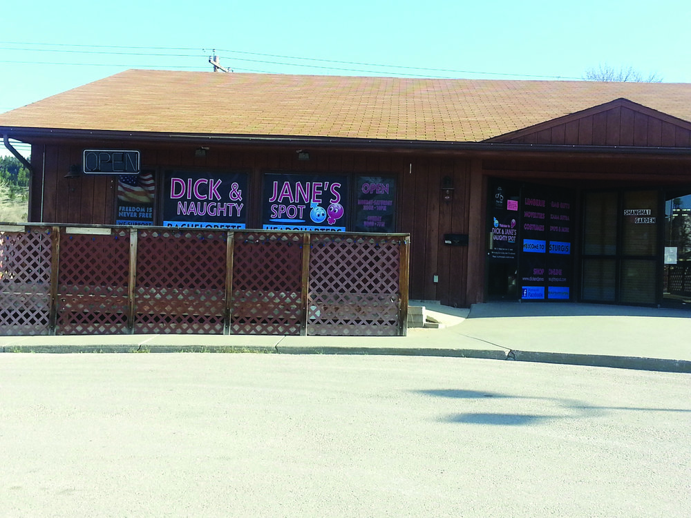 Court case: The City of Sturgis denied the certificate of occupancy to Dick and Jane's, pointing out its operation as an adult-themed business within one-fourth mile of residences, violating state law. Photo by Tom Baloun.