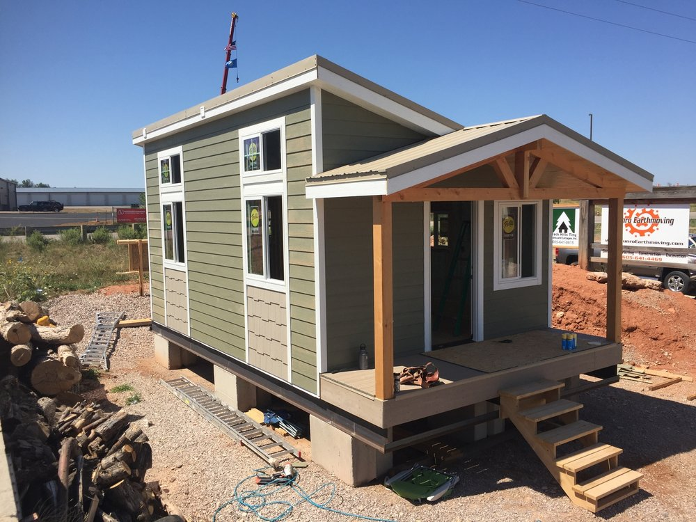 Do tiny houses fit into your community the western planner for Foundation tiny house builders
