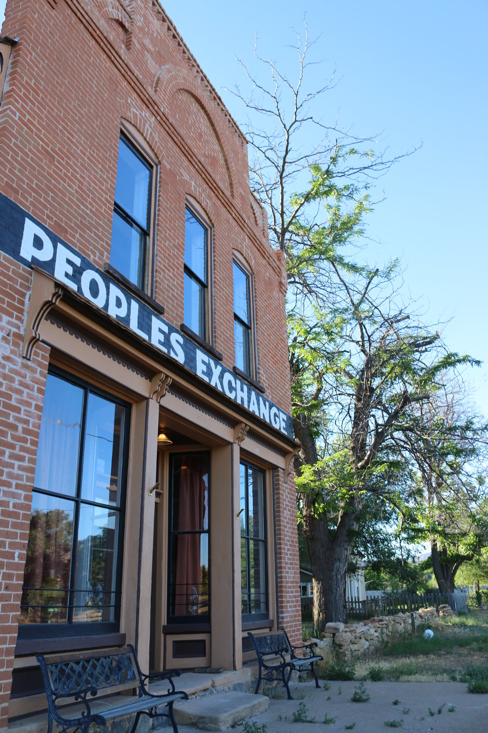 Historic People's Exchange Building - Escalante, Utah. Photo provided by Rural Planning Group.