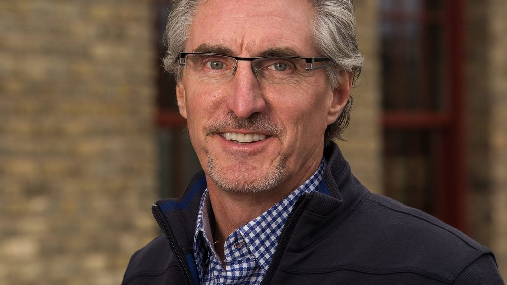 Governor Doug Burgum portrait from the Burgum for North Dakota campaign.