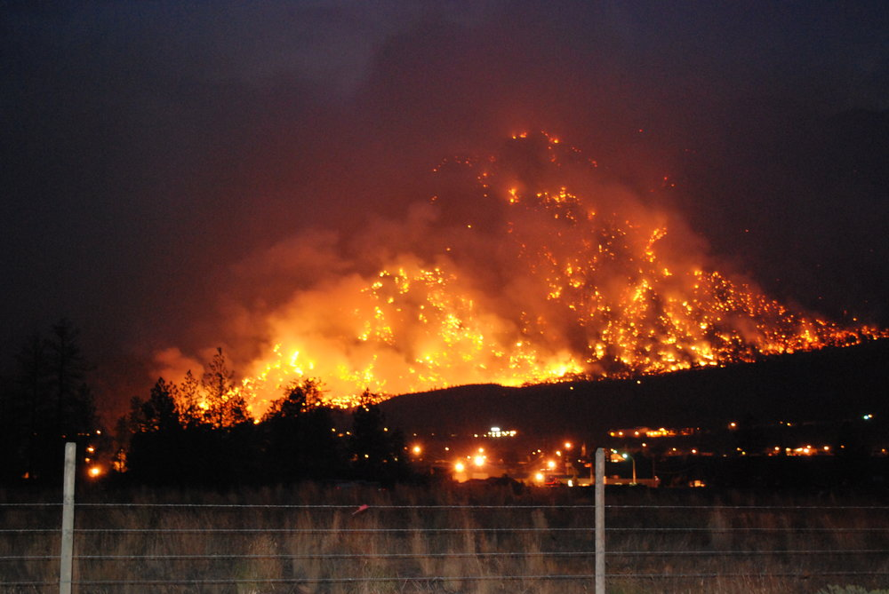 Photo provided by Community Planning Assistance for Wildfire.