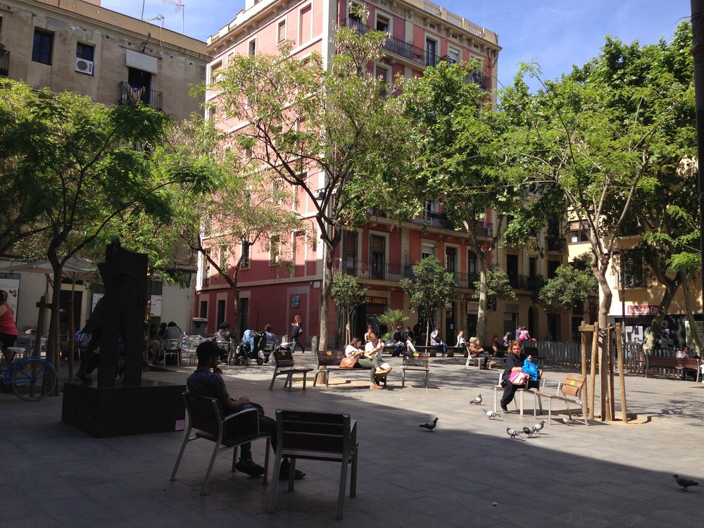 Photo: Plaça del Diamant