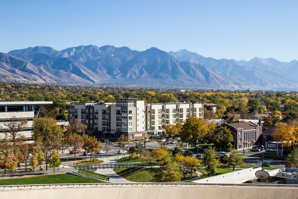 VIEW OF WASATCH RANGE | PHOTO CREDIT: WASATCH FRONT REGIONAL COUNCIL