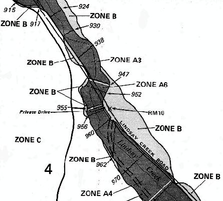Figure 1 – Example of Nez Perce County's 1983 FIRM map.
