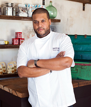 TIMON BALLOO  // SUGARCANE raw bar grill  Home to globally inspired plates, three stars from the Miami Herald, and a JBF Best New Restaurant semifinalist nod, SUGARCANE raw bar grill is hands-down one of South Florida's best restaurants, while Timon Balloo, who recently opened a Vegas outpost, is one of the area's most talented and respected chefs.  SUGARCANE will open in Brooklyn this fall.   https://sugarcanerawbargrill.com/