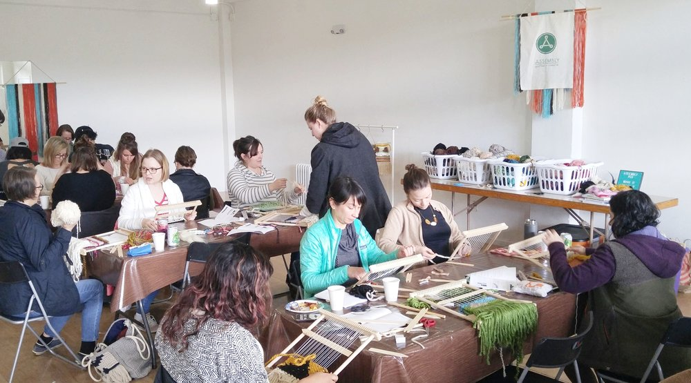 beginner_loom_weaving_class_portland