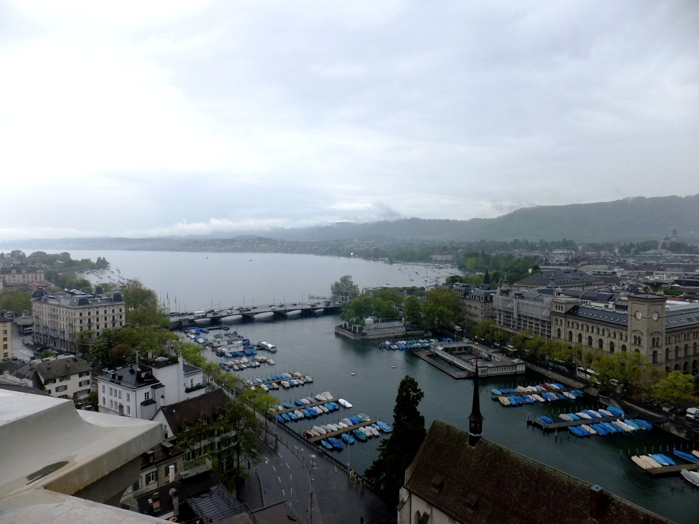 View of Lake Zurich