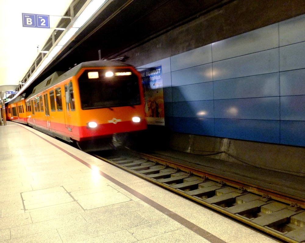 Train to Uetliberg