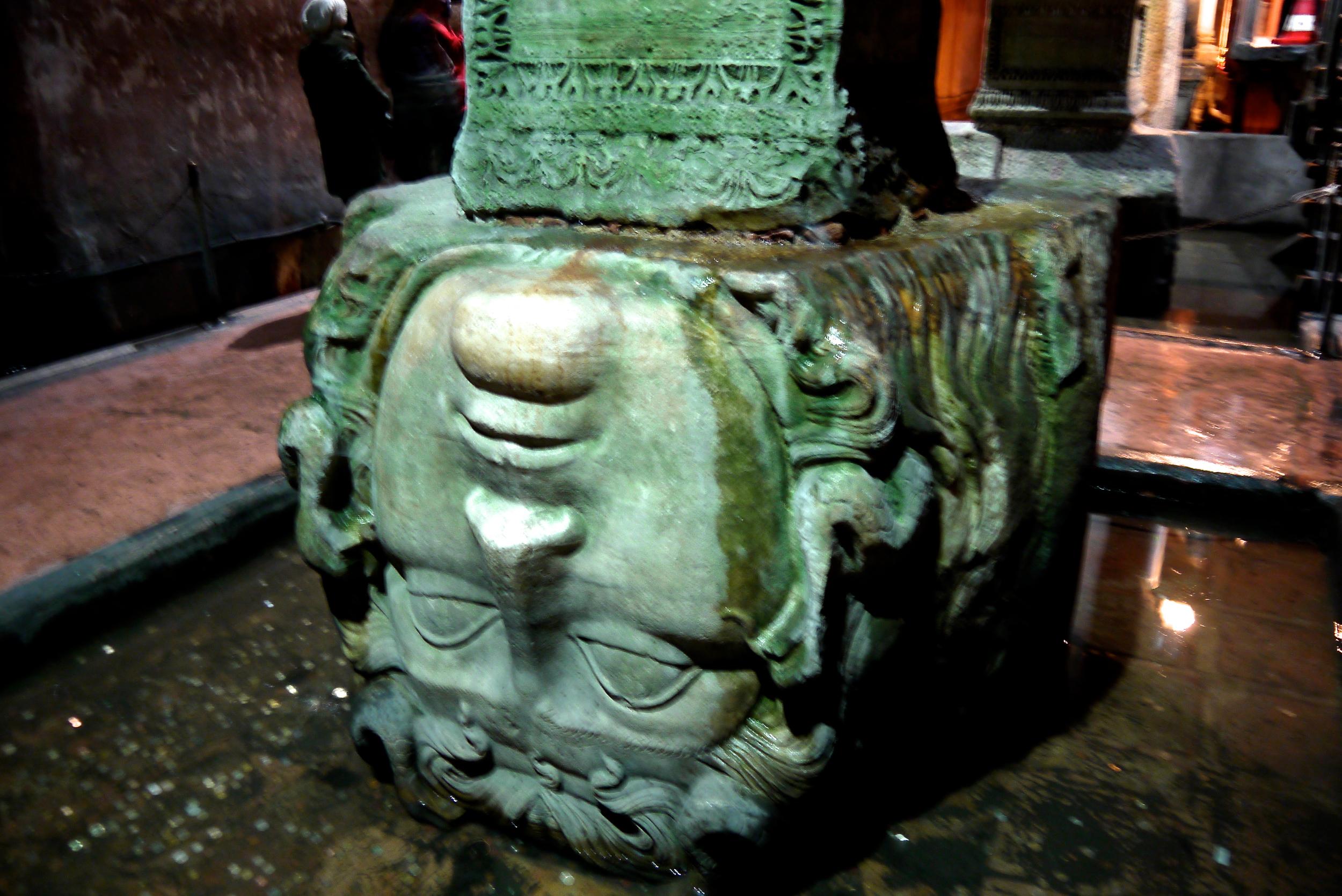 Figure 3. Upside down Medusa head