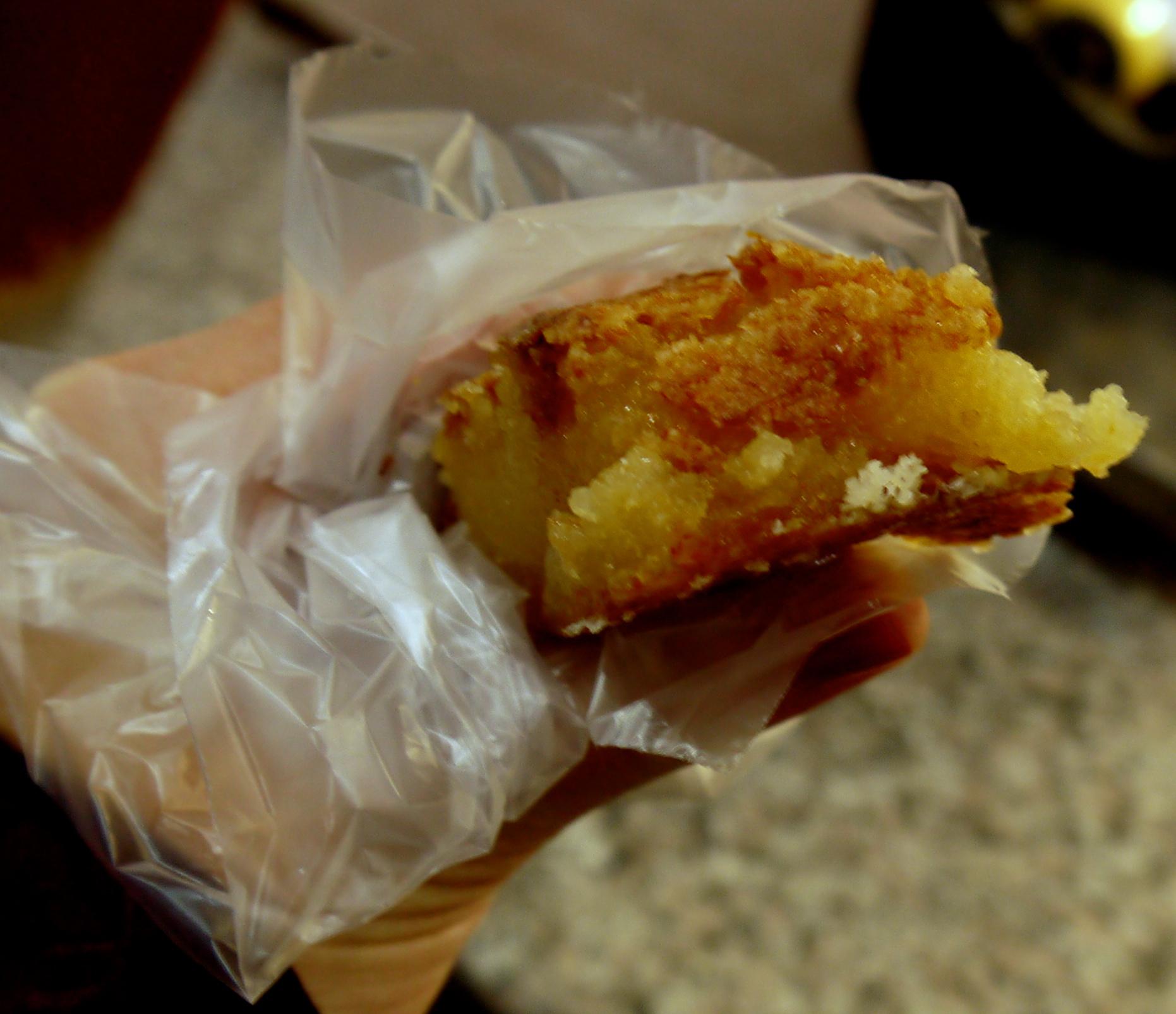 Figure 4. Baked peynir helvasi