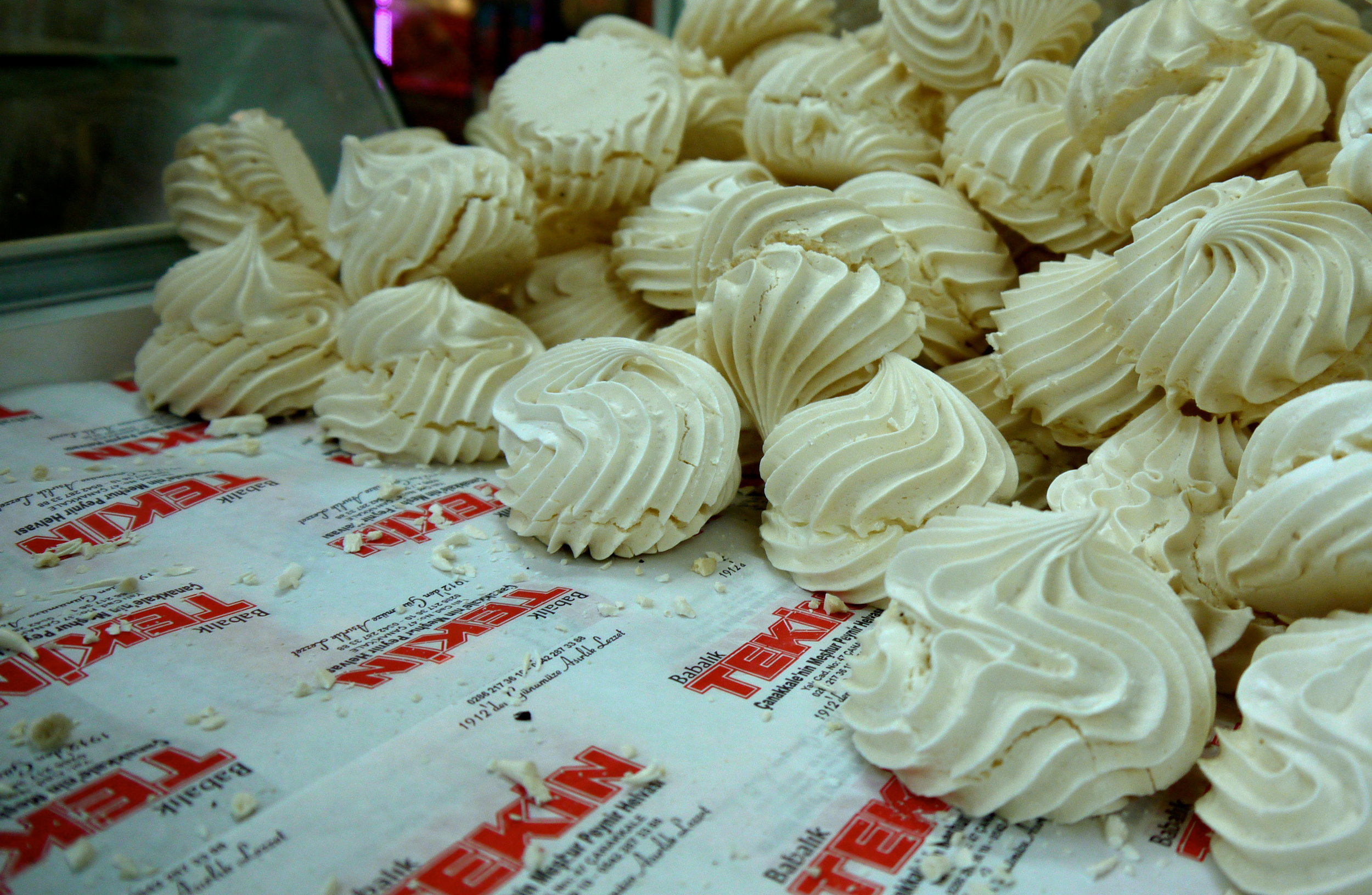Figure 6. Lemon meringues