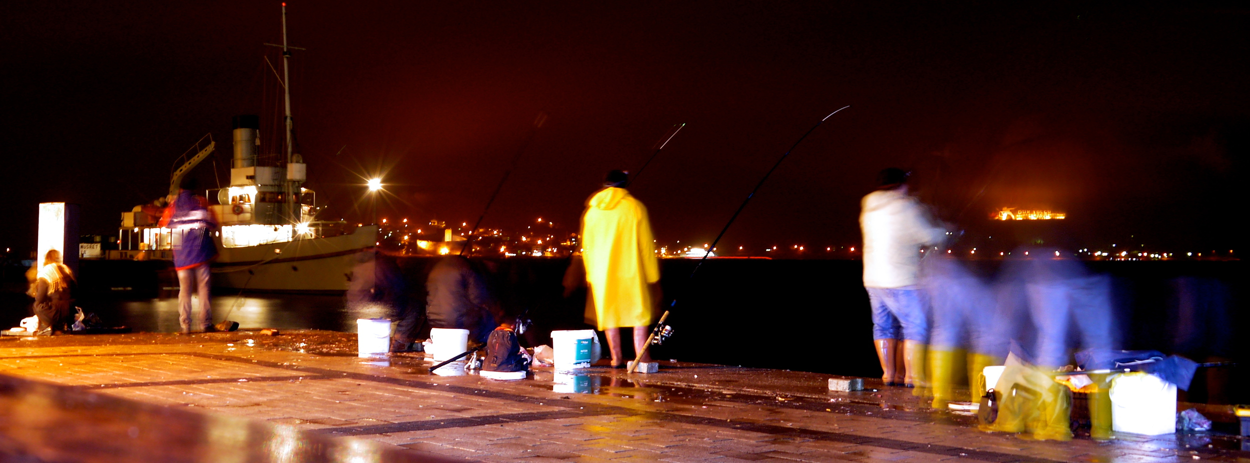 Figure 7. Night fishing