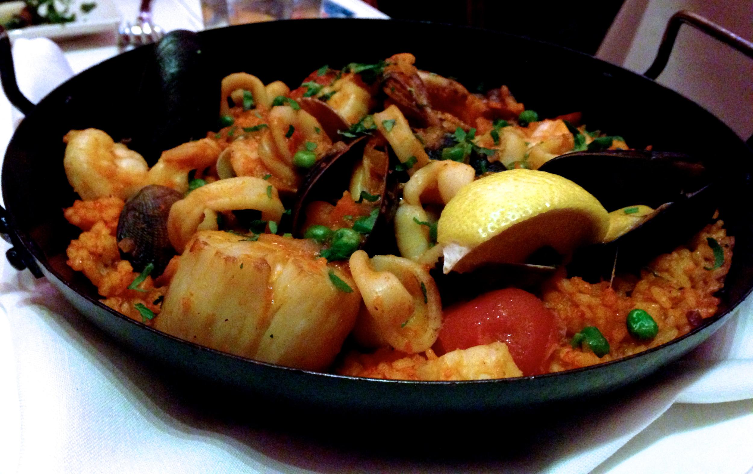 Figure 6. Seafood paella