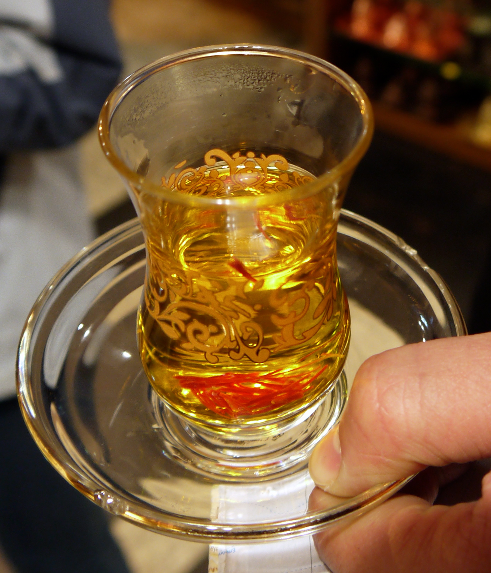 Figure 7. Saffron tea