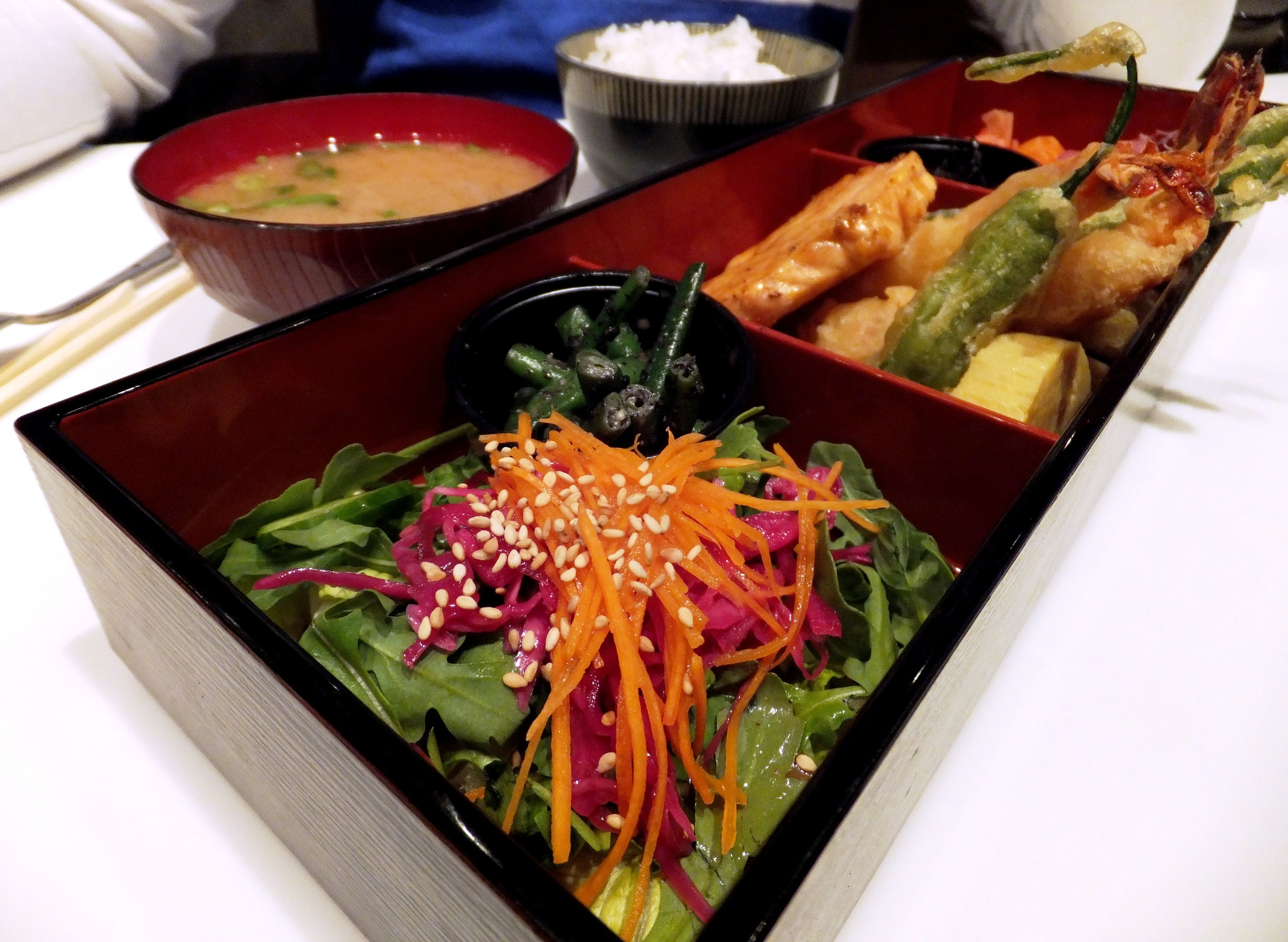 Figure 5. Grilled Salmon Bento Box