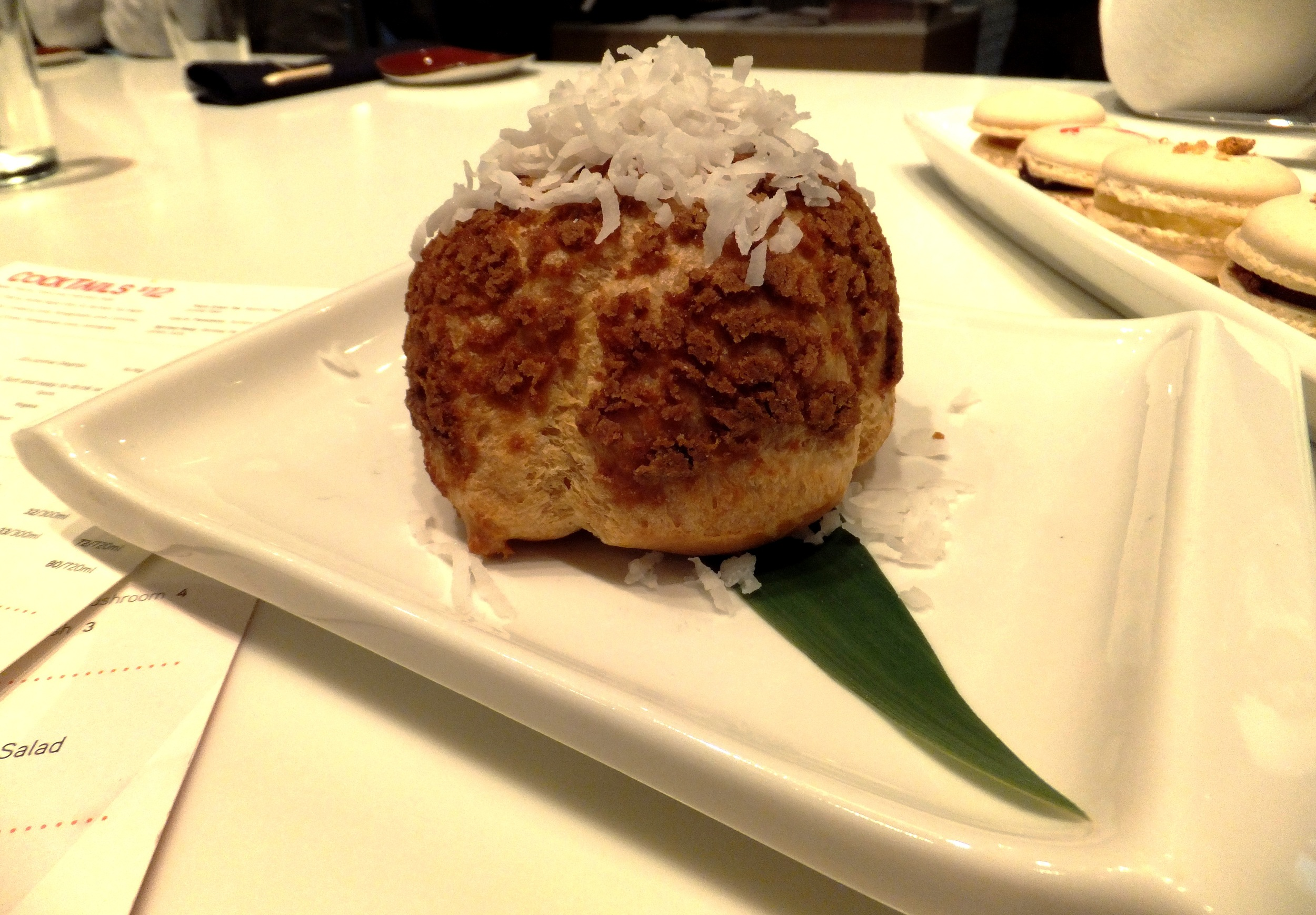Figure 10. Coconut cream puff