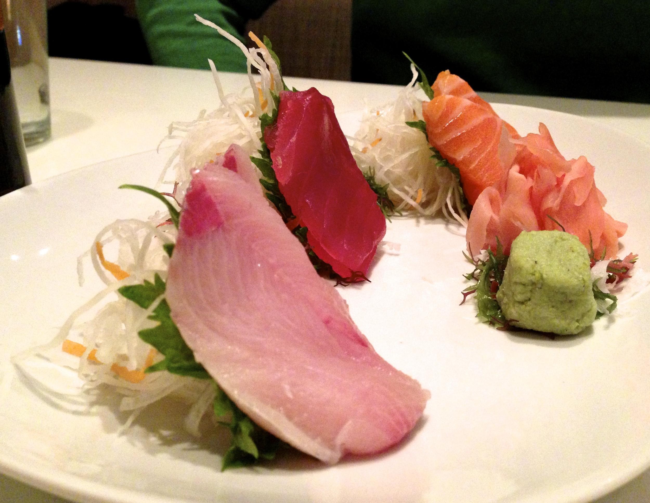Figure 4. Sashimi plate