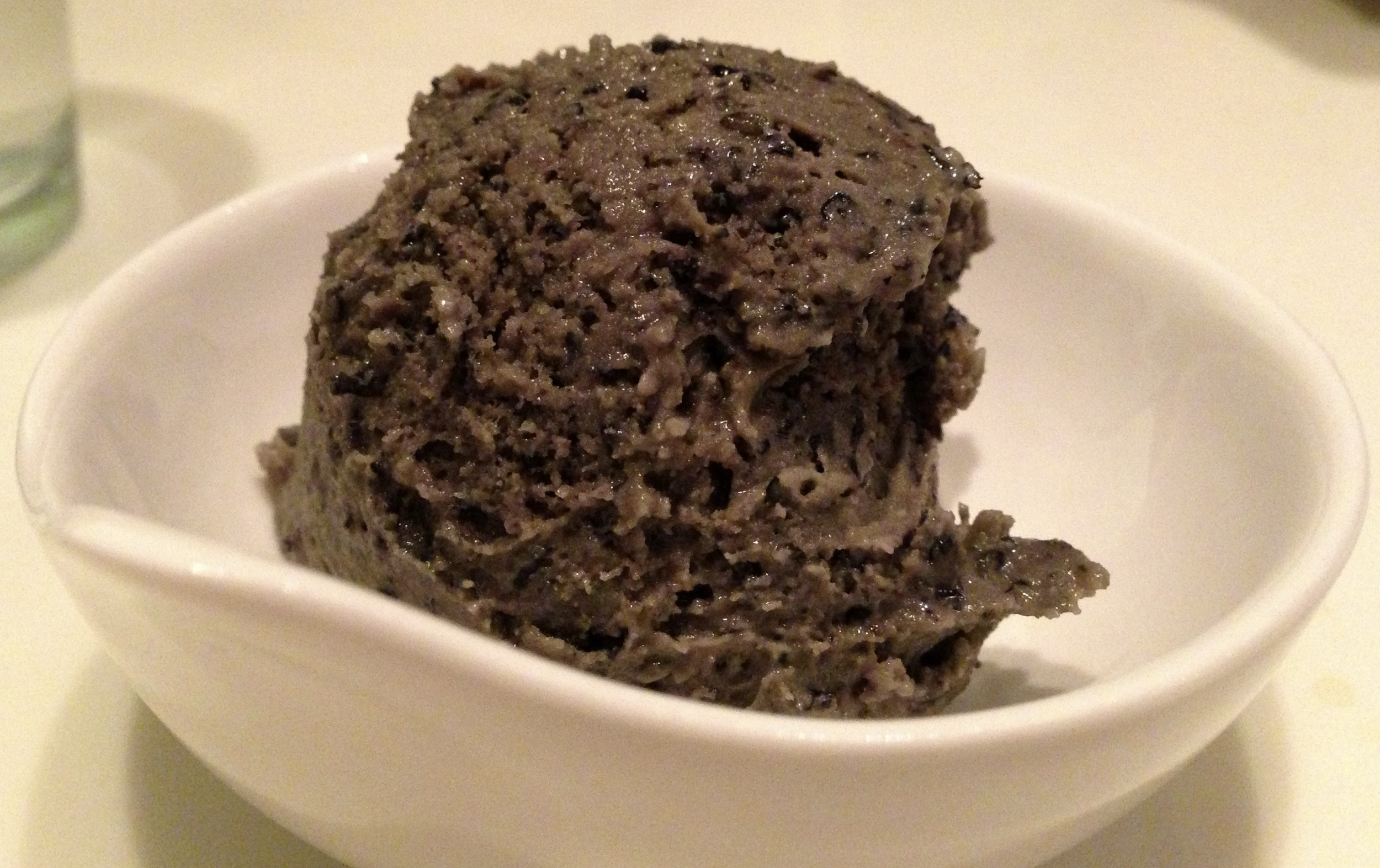 Figure 13. Black sesame ice cream