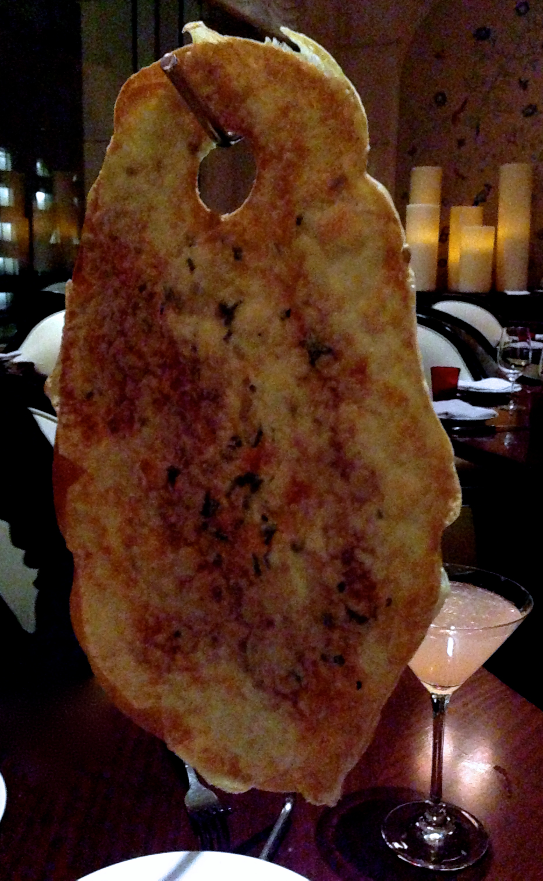 Figure 3. Cheese lavosh (or lavash)