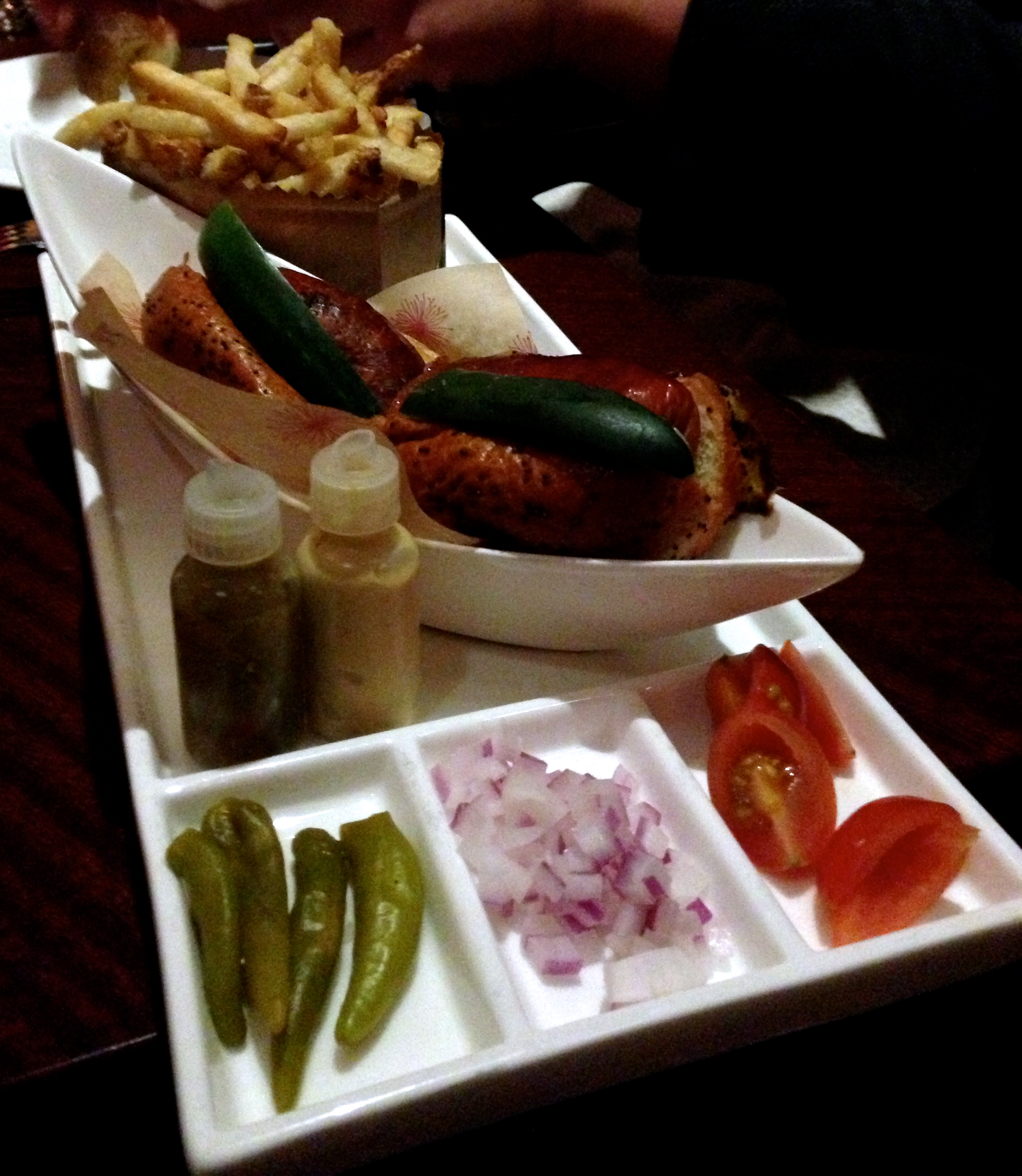 Figure 11. Chicago style hot dog