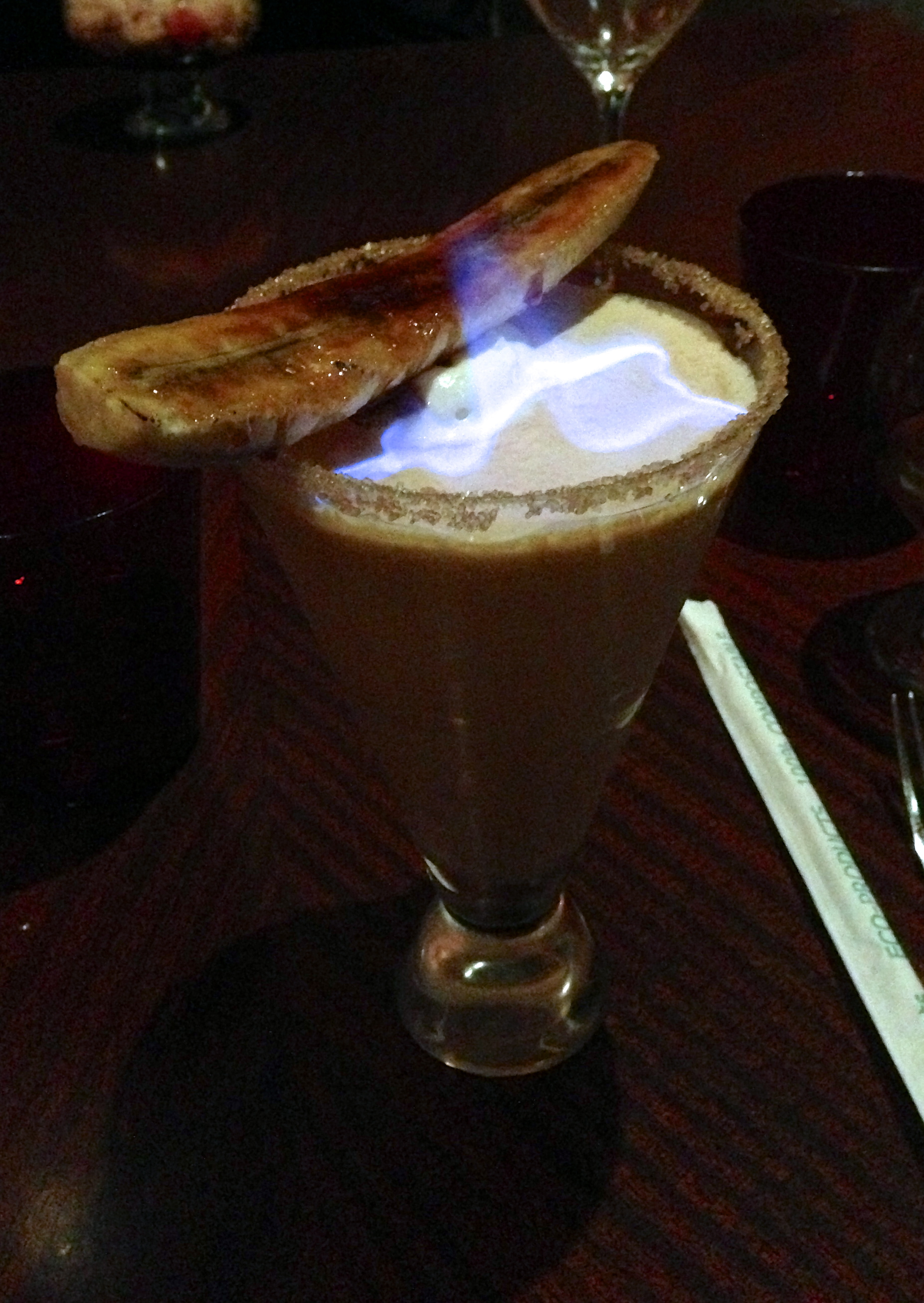 Figure 15. Flaming banana foster