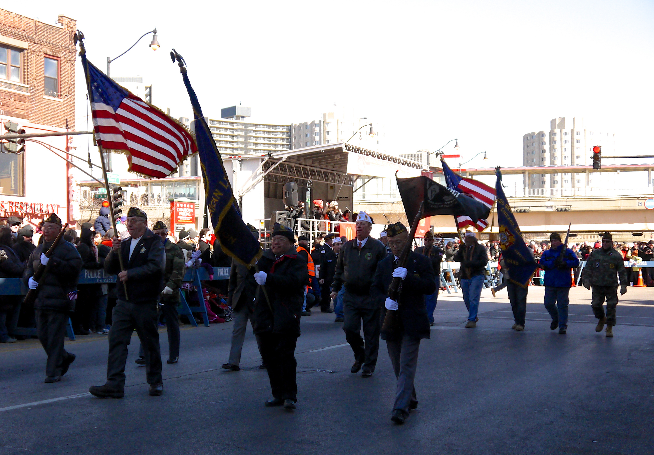 Chinatown veterans