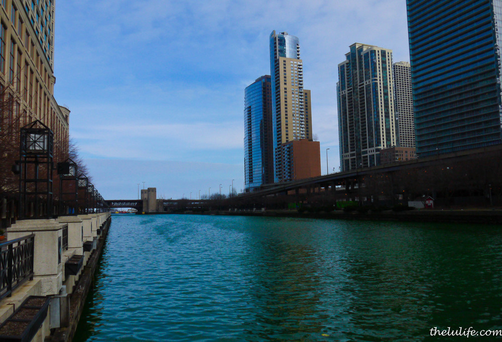 Figure 2a. Chicago River dyed green!