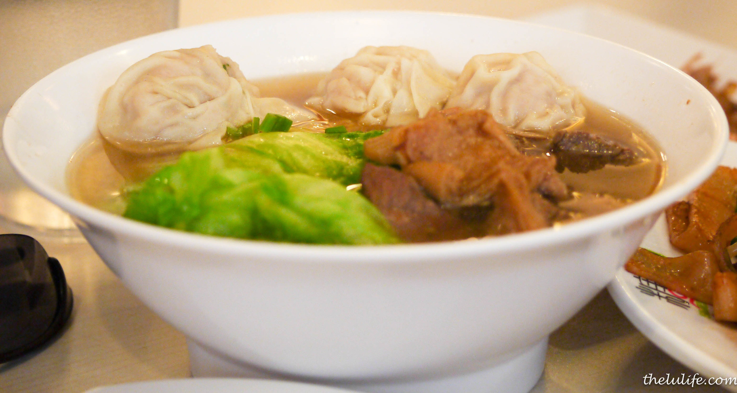 Figure 6. Beef and shrimp wonton ramen