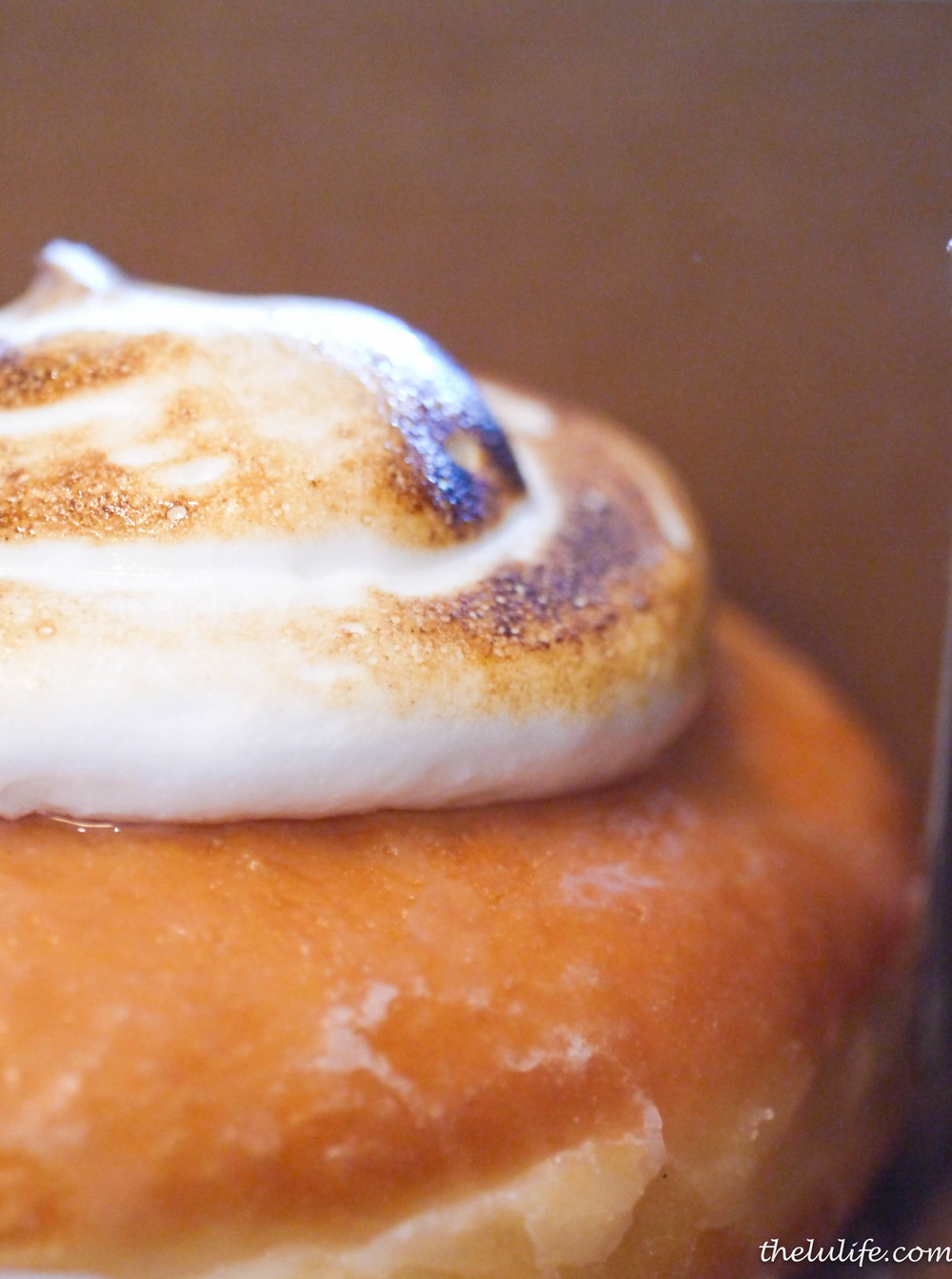 Figure 6. Lemon verbana meringue doughnut