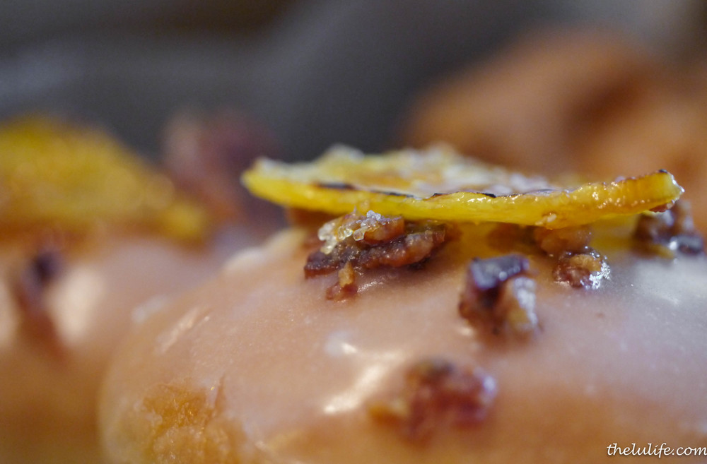 Figure 7. Maple glazed pineapple and bacon doughnut