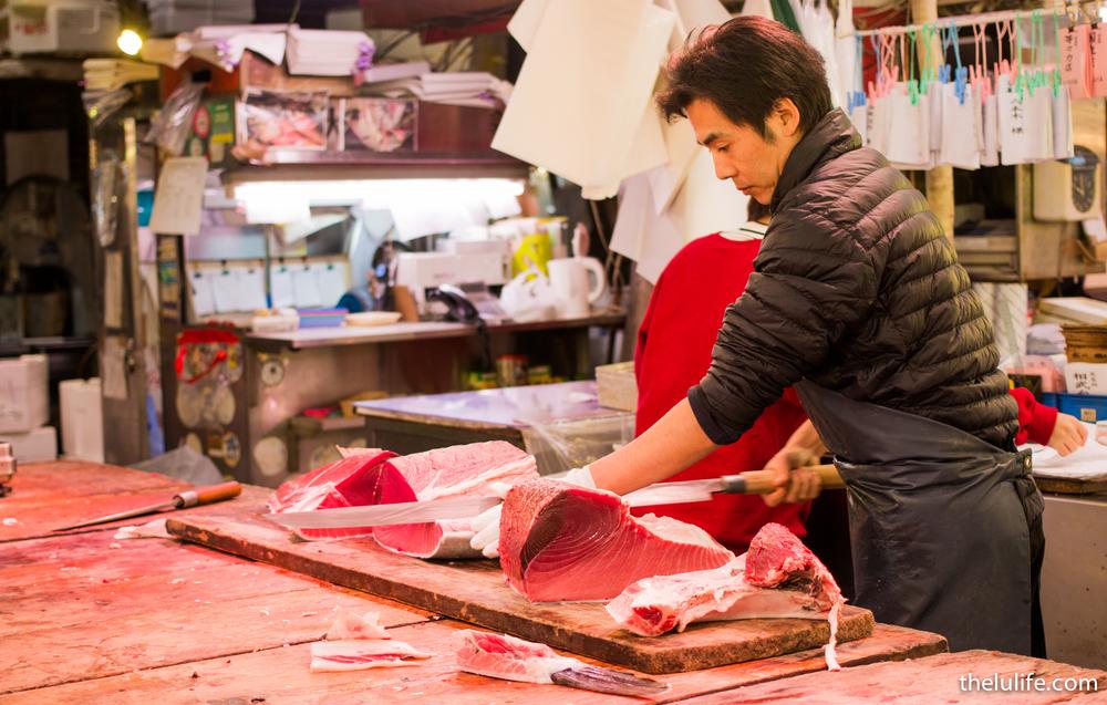 Tuna at Tsukiji