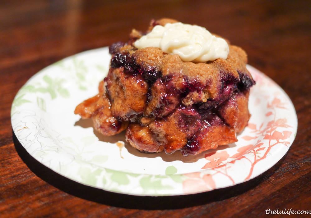 Blueberry monkeybread