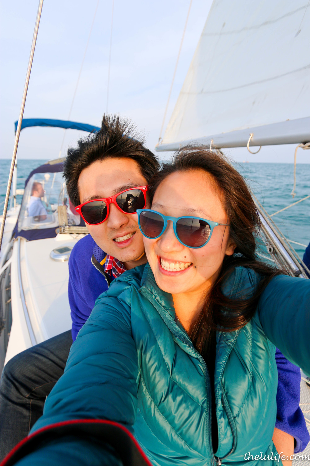 Sailing - Lu and Andrew