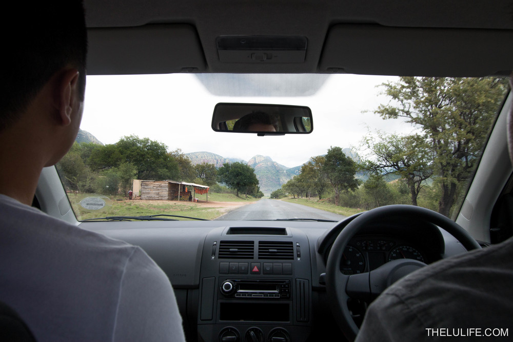 Driving along the Panorama Route