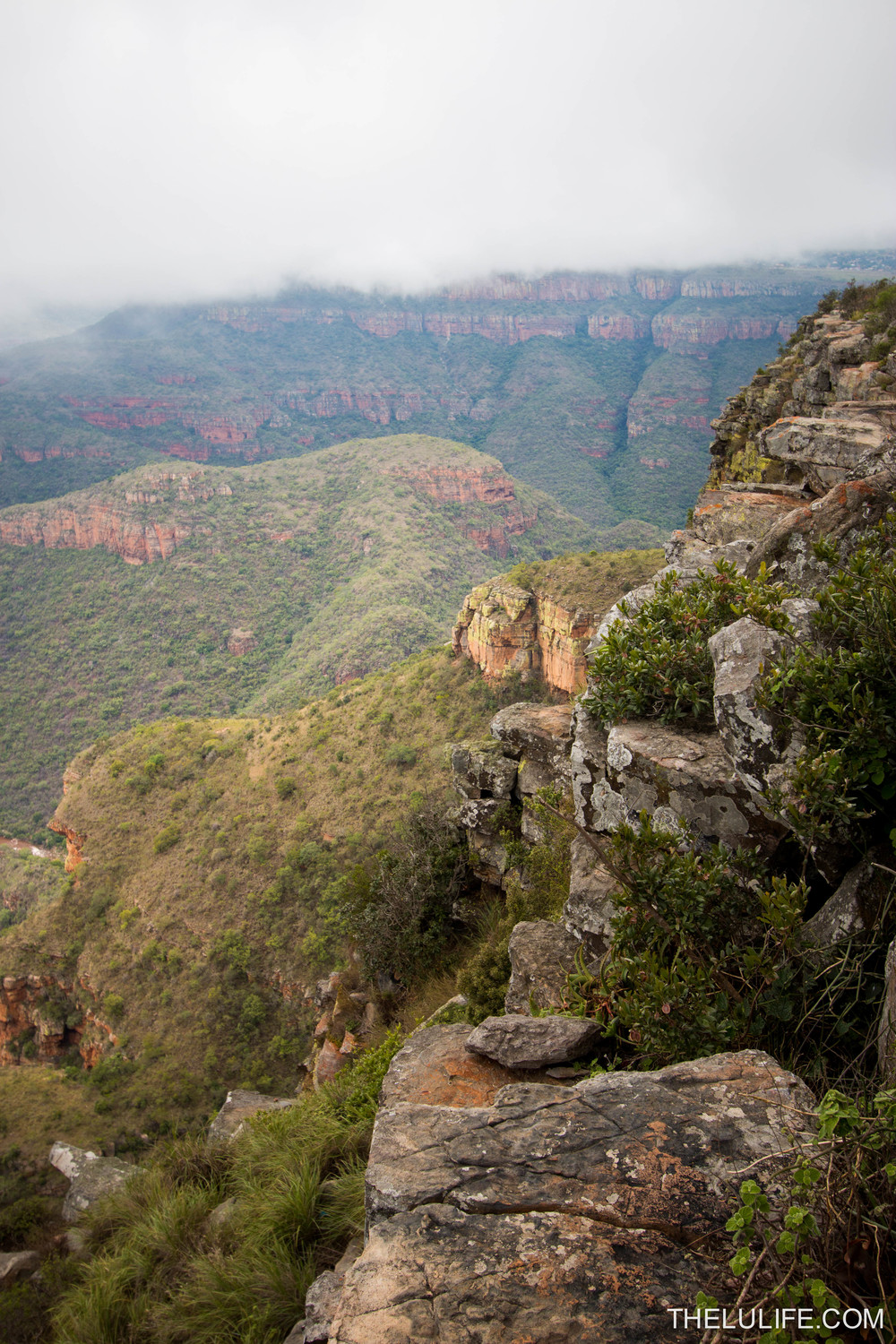 Blyde River Canyon, near Three Rondavels