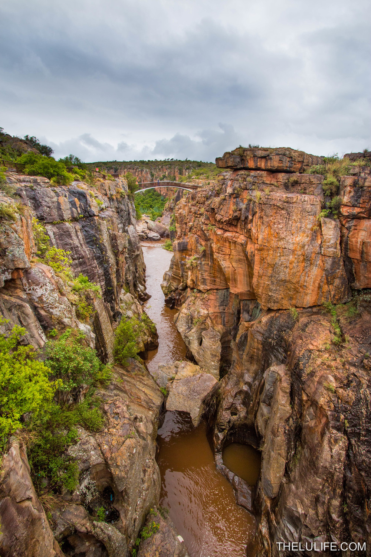 Blyde River Canyon, near Bourke's Luck Potholes